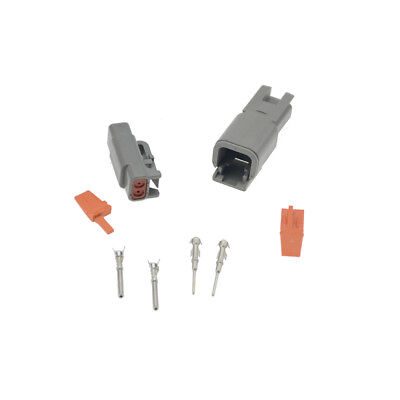 1set Deutsch DT2pin Female DTM06-2S male DTM04-2P Electrical Wire Connector plug