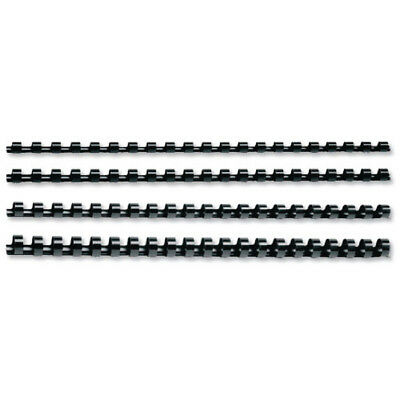 Q-Connect Black 16mm Binding Combs (Pack of 50) KF24024