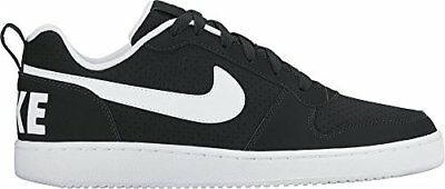 Nero 40 EU Nike Court Borough Low Sneaker Uomo Black/White Scarpe ahx