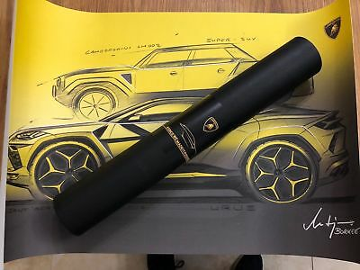 Limited Edition Official Lamborghini Urus Poster - From UK Launch Party