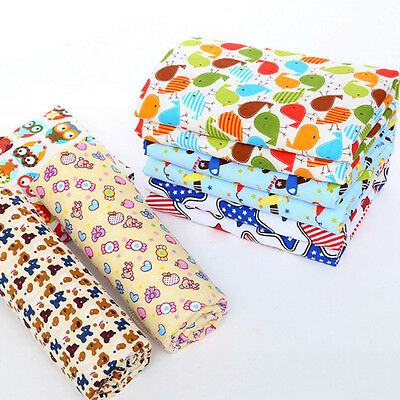 Waterproof Baby Infant Urine Mat Changing Pad Cover Change Mat 3 Layer Cotton