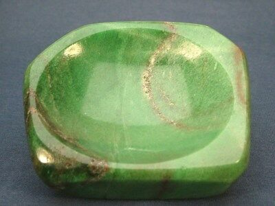 Vintage Chinese Nepherite Jadeite  Brush Washer Dish