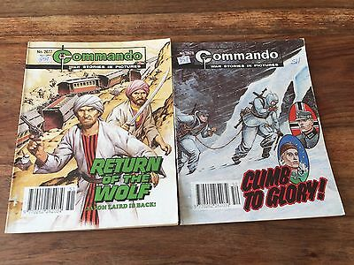 Commando comics book no. 2577 and 2578, 2 war stories comic books in pictures