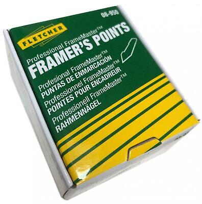 Fletcher Framemaster Framer's Points 16mm 3,000 Picture Framing
