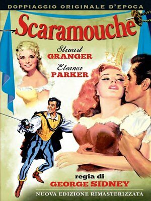 Dvd Scaramouche - (1952)  ** A&R Productions ** ......NUOVO