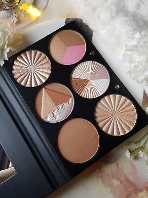 OFRA On The Glow Palette Highlighter Bronzer Professional Makeup