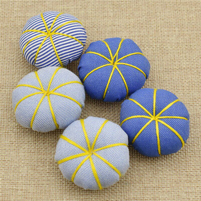 Pumpkin Needle Sewing Pin Cushion 1Pack 5Pcs Stitch Accessories Tools Random