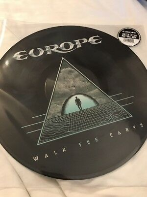 Europe - Walk The Earth LP Picture Disc rsd 2018 - New / Mint