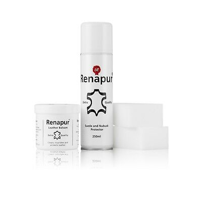 Renapur Leather and Suede Protector Kit