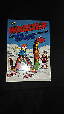 Whizzer And Chips Annual 1987 Vintage U.K Comic Hardback Book