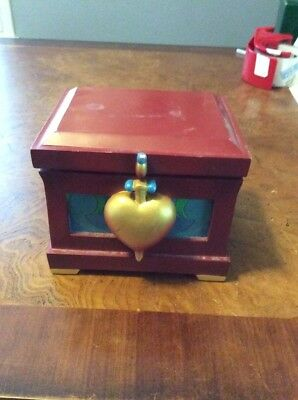 Disney Snow White jeweled poisoned apple ornament mint never used rare 2007