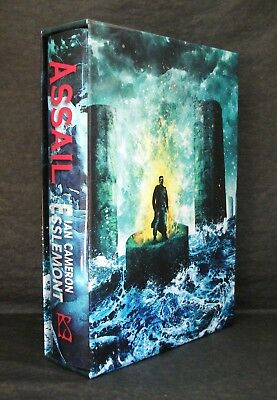 ASSAIL Ian Camerson Esslemont UK SIGNED LIMITED 1st EDITION SLIPCASED