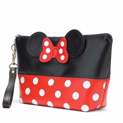 Mickey Mouse Women Cosmetic Bag Travel MakeUp Organizer Case Colors