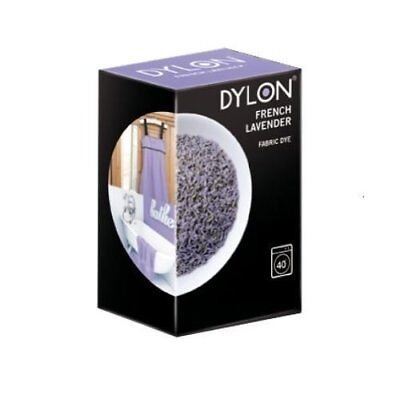 DYLON French Lavender Machine Fabric Dye Powder 200g