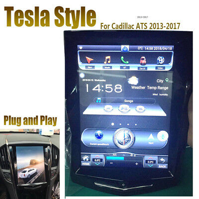 "10.4"" Android 5.1 Car Radio GPS Navigator For Cadillac ATS XTS SRX CTS 2013-2018"