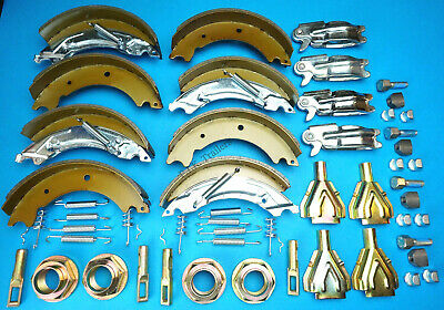 Twin Axle 200x50 KNOTT Type Trailer Brake Shoe & Service Kit HB510 IFOR WILLIAMS