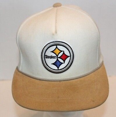 9a37d9be6bb Mitchell   Ness NFL Vintage Col Pittsburgh Steelers Adjustable Baseball Hat  Cap