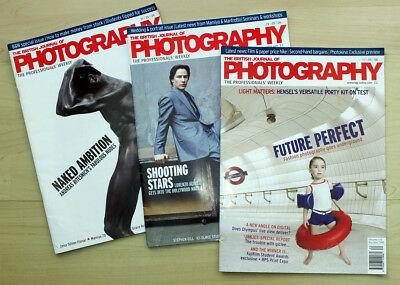 117 Copies of The British Journal of Photography dated 2006, 2007, 2008, 2009