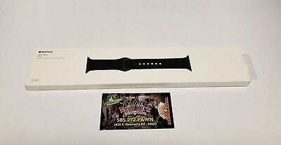 Apple Watch Sport Band 42MM Genuine/Original BLACK- Space gray pin. New in box.