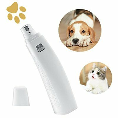 OMORC Broyeur d'Ongles Animaux Lime Griffe Electrique Chien Chat Lime à Ongle