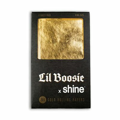 Shine Lil Boosie X Shine King Size Rolling Papers 2-Sheet Pack