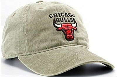 d1c79675b21 Chicago Bulls NBA Mitchell   Ness Blast Wash Tan Khaki Slouch Hat Cap Men s