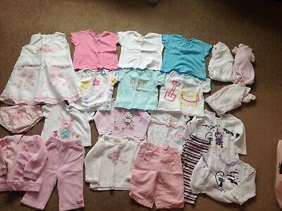 bbcd98ee1 NEWBORN   First Size Baby Girls Clothes Next George Etc Bundle 3 ...