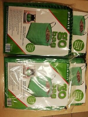 4 x GO BAGS 120 Litres Heavy Duty Perfect For Garden Waste Building  Equestrian