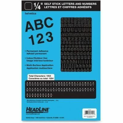 Headline Stick on Letters and Numbers 31741