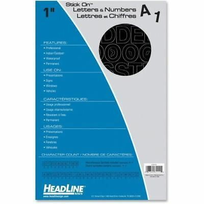 Headline Stick on Letters and Numbers 31111