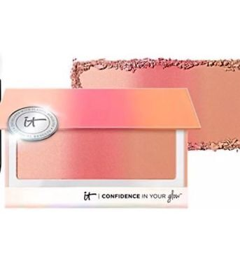 It Cosmetics Confidence In Your Glow Blushing Bronzer Instant NATURAL GLOW NIB