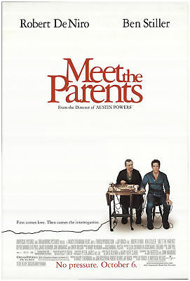Meet the Parents 2000 27x40 Orig Movie Poster FFF-69211 Rolled Robert De Niro