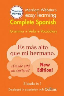 Merriam-Webster's Easy Learning Complete Spanish: By Webster, Merriam