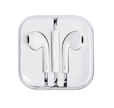 Authentic Apple Earpods W/ Remote & Mic For iPhone 6S 6 Plus 5SE 5C 5