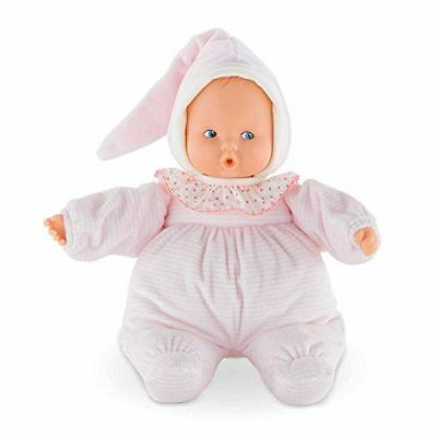 "Corolle Dolls Babicorolle Pink Striped Baby 11"" - CJC23 - NEW"