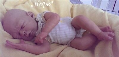 "Hope by Petra Lechner 20"" Ltd Ed Reborn Baby Unpainted Kit"
