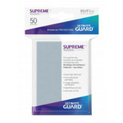 Sleeves Ultimate Guard Supreme UX Sleeves Standard Size Matte White (80)Accessor