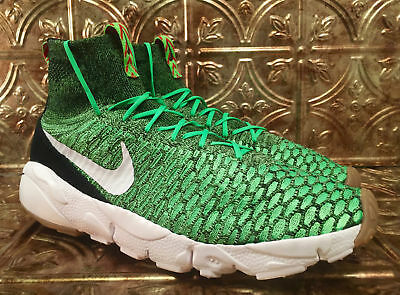 "3ee438698220 Mens Nike Air Footscape Magista Flyknit ""Poison Green"