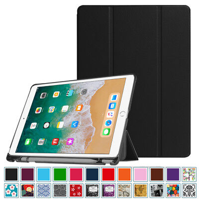 For iPad Pro 10.5 Case with Apple Pencil Holder Pro 10.5 Slim Shell Stand Cover