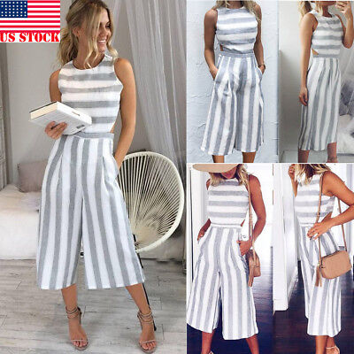 Women's Clubwear Playsuit Bodysuit Party Jumpsuit Romper Chiffon Long Trousers