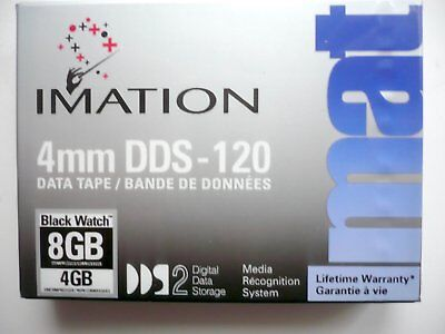 10 Pieces IMATION 4 mm DDS-120 DATA TAPE DAT 4/8 GB 120 Metres neuf scellé 0255