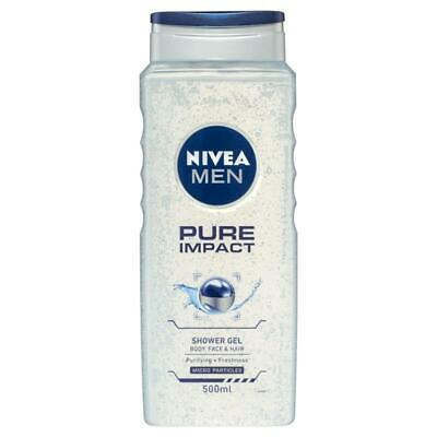Nivea for Men Pure Impact Shower Gel 500ml