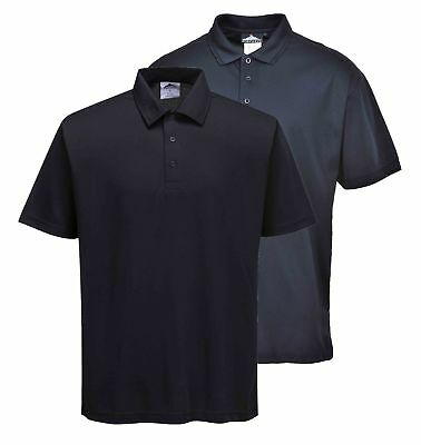 Portwest Terni Polo Shirt Lightweight Breathable 100% Polyester Wicking B185
