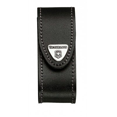 4.0520.32 VICTORINOX SWISS ARMY KNIFE LEATHER POUCH COVER for 91mm 2-4 layers