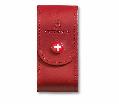 4.0521.1 VICTORINOX SWISS ARMY KNIFE LEATHER POUCH COVER for 91mm 5-8 layers
