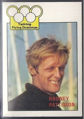 A&bc-Olympics (X36)1972-#35- Yachting - Rodney Pattisson
