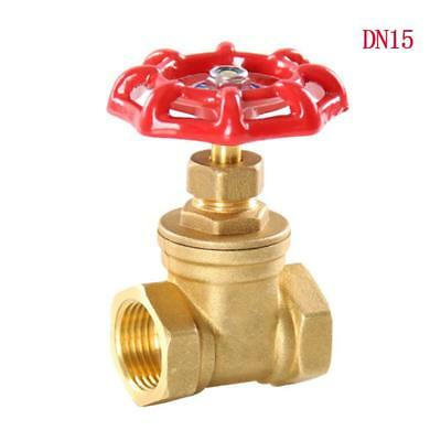 "1/2"" BSPP Brass Gate Valve 232 Psi full Port Water oil gas"