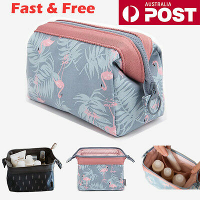 Cosmetic Makeup Bag Toiletry Wash Beauty Travel Organizer Pouch Storage Bag AU