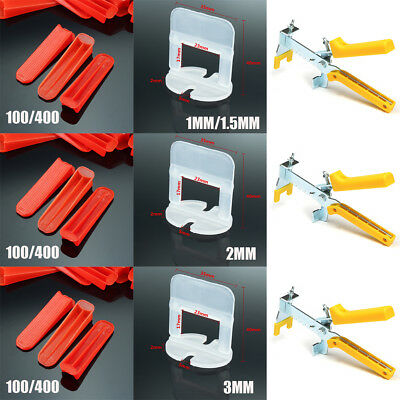 Tile Leveling System Clips & Wedges & Pliers Plastic Spacer Tiling Tool Flooring