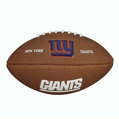 New York Giants Mini Gridiron NFL Ball By Wilson